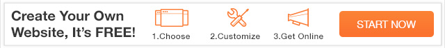 wix - free create website